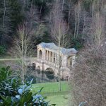 View of the Palladian Bridge from above