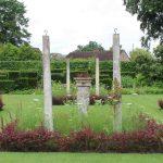 Pillars in the Garden
